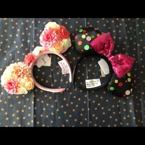 2 NWT Minnie ears